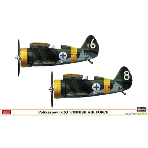 BH02144 1/72 Polikarpov I-153 Finnish Air Force (2 kits in the box)- 2대 포함