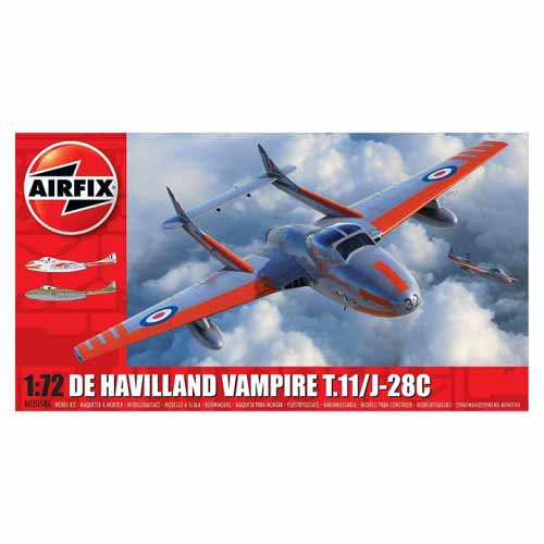 BB02058A 1/72 De Havilland Vampire
