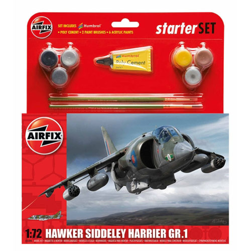 BB55205 1/72 Hawker Harrier GR1 Starter Set-박스 손상