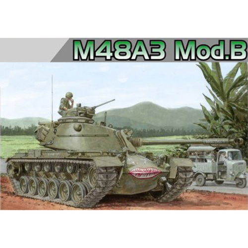 BD3544 1/35 M48A3 Patton Mod. B - Smart Kit-트랙 누락