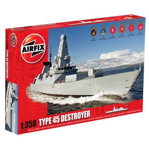 BB12203 1/350 Type 45 Destroyer 'Daring' (New Tool- 2012)