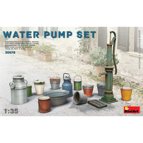 BE35578 1/35 Water Pump Set