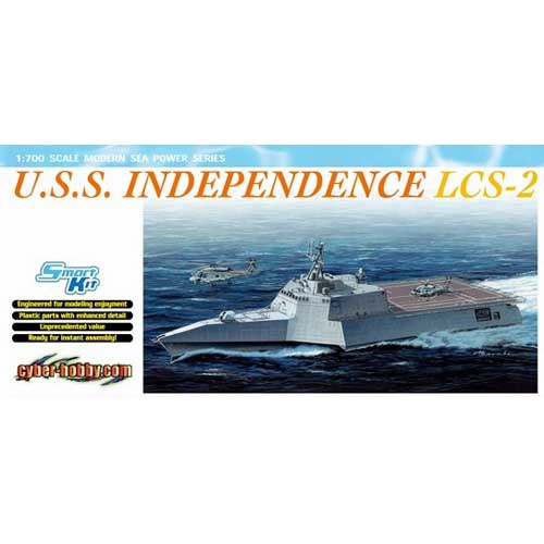 BD7092 1/700 U.S.S. Independence LCS-2 ~ Smart Kit