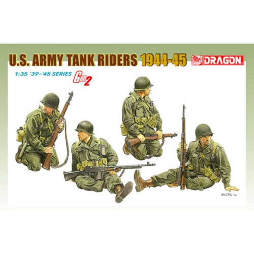 BD6378 1/35 US Army Tank Riders 1944-45 (4 Figures Set) ~ Gen 2