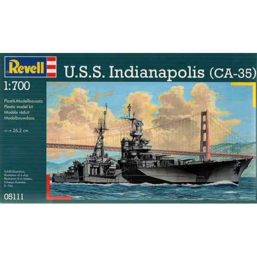 BV5111 1/700 U.S.S. Indianapolis (CA-35)(New Tool-2012)