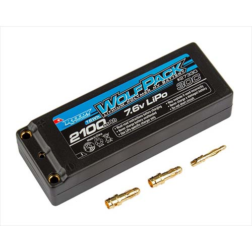 AAK27330 HV LiPo 2100mAh 30C 7.6V Battery