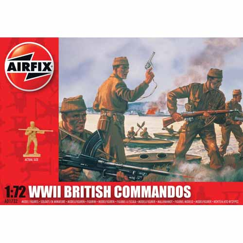 BB01732 1/72 WWII British Commandos