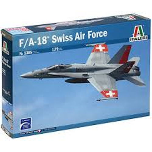 BI1385 1/72 F/A-18 HORNET SWISS AIR FORCES
