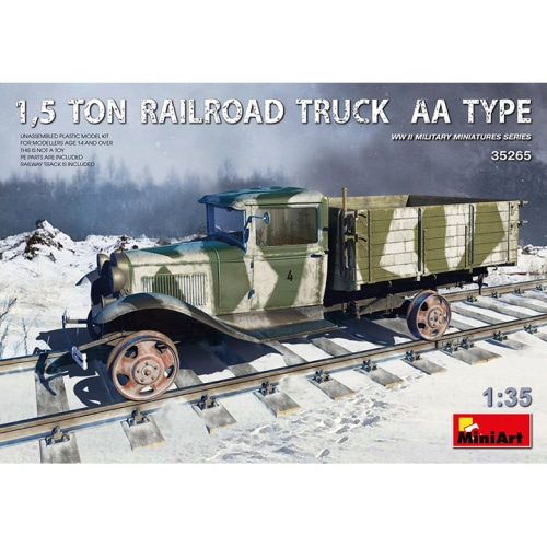 BE35265 1/35 1.5 Ton Railroad Truck AA Type
