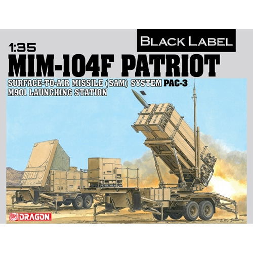 BD3563 1/35 MIM-104F PATRIOT SURFACE-TO-AIR MISSILE (SAM) SYSTEM PAC-3 M901 LAUNCHING STATION (Black Label)